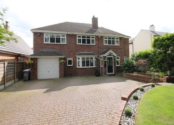 Thumbnail 5 bed detached house for sale in Davyhulme Road, Urmston, Manchester