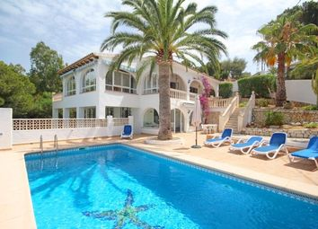 Thumbnail 4 bed villa for sale in Moraira, Costa Blanca North, Spain
