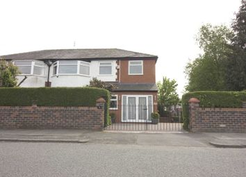 Thumbnail 5 bed semi-detached house for sale in Parksway, Prestwich, Manchester