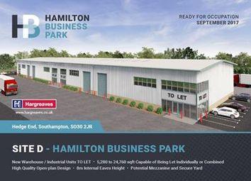 Thumbnail Light industrial to let in Site D Hamilton Business Park, Hedge End, Southampton, Hampshire
