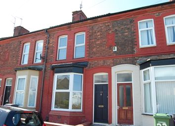 Thumbnail 3 bed terraced house to rent in Patten Street, Birkenhead, Wirral