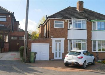 Thumbnail 3 bed semi-detached house for sale in Windmill Avenue, Coleshill, Birmingham