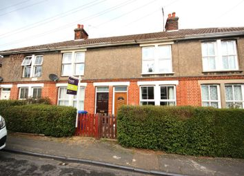 Thumbnail 3 bedroom terraced house to rent in Springfield Avenue, Bury St. Edmunds