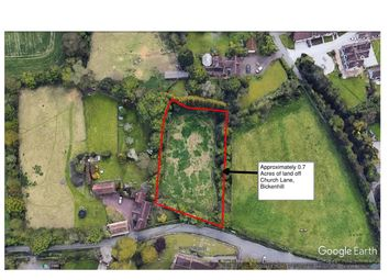 Thumbnail Land for sale in Church Lane, Bickenhill, Solihull