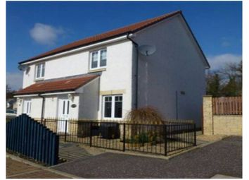 Thumbnail 2 bed semi-detached house for sale in Talorcan, Alloa