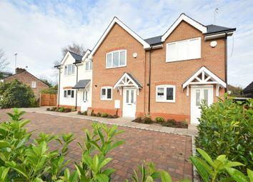 3 bed terraced house for sale in Burwood Road, Hersham Village, Surrey KT12