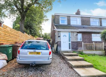 Thumbnail 3 bed semi-detached house for sale in Croft Close, Prenton