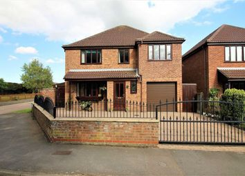 Thumbnail 4 bed detached house for sale in Low Church Road, Middle Rasen