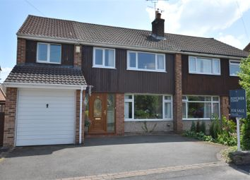 Thumbnail 4 bed semi-detached house for sale in Devonshire Drive, Duffield, Belper