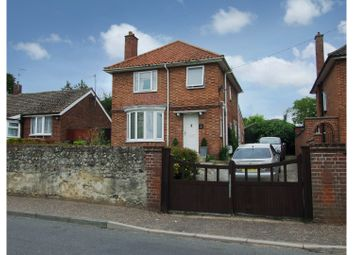 Thumbnail 4 bedroom detached house for sale in Station Road, Thetford