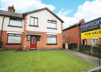 Thumbnail 3 bed semi-detached house for sale in Violet Avenue, Farnworth, Bolton, Lancashire.