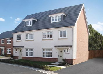Thumbnail 4 bed semi-detached house for sale in Stanbury Meadows, Camomile Way, Newton Abbot, Devon