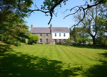 Thumbnail 3 bed detached house for sale in Llangybi, Pwllheli
