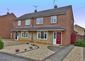 Thumbnail 3 bedroom semi-detached house for sale in Swale Avenue, Peterborough