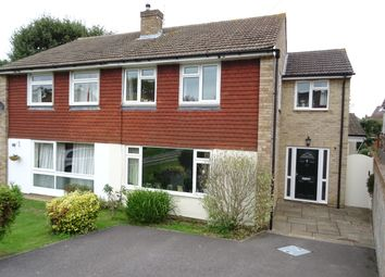Thumbnail 4 bed semi-detached house for sale in Howards Lane, Row Town