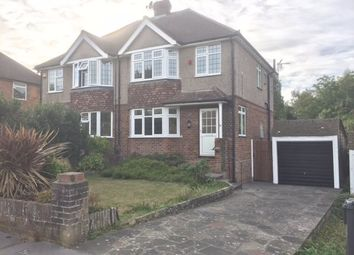 Thumbnail 3 bed semi-detached house to rent in The Ruffetts, South Croydon, Surrey