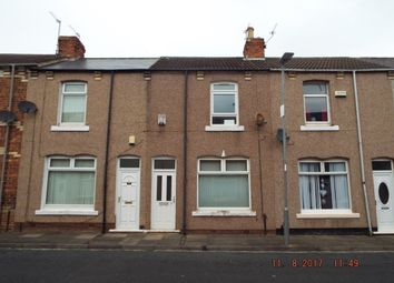 Thumbnail 2 bed terraced house for sale in Stephen Street, Welldeck Road, Hartlepool
