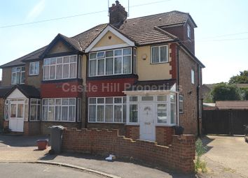 Thumbnail 4 bed semi-detached house for sale in Eldon Avenue, Hounslow, Greater London.