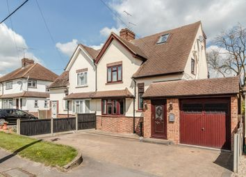 Thumbnail 4 bed semi-detached house for sale in Mayfield Road, Chelmsford, Essex