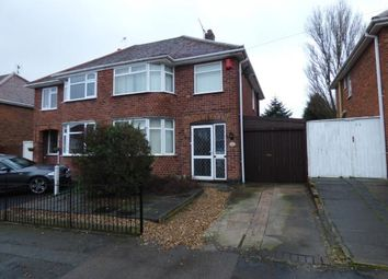 Thumbnail 3 bed semi-detached house for sale in Lymington Road, Leicester, Leicestershire