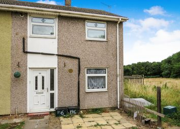 Thumbnail 2 bed end terrace house for sale in Roberts Road, Edlington, Doncaster