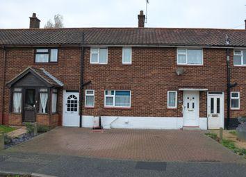 Thumbnail 3 bed terraced house for sale in Kingsfleet Road, Felixstowe