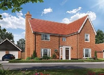 Thumbnail 4 bed detached house for sale in Cromer Road, Holt