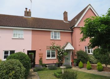 Thumbnail 2 bed terraced house for sale in Rectory Green, Halesworth