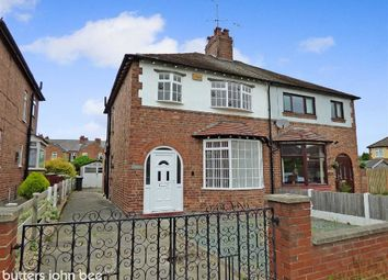Thumbnail 3 bed semi-detached house for sale in Clydesdale Avenue, Crewe
