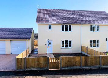 3 bed semi-detached house for sale in Beaconstone, Hillcommon, Taunton - Brand New Build, No Chain TA4
