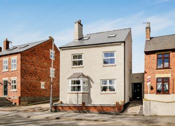 Thumbnail 4 bed detached house for sale in Church Street, Donisthorpe