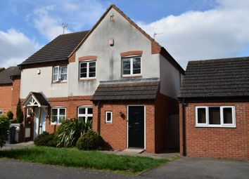 Thumbnail 4 bedroom semi-detached house for sale in Harrowden Rise, Rowlatts Hill, Leicester