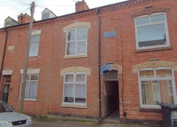 Thumbnail 4 bedroom terraced house for sale in Myrtle Road, Leicester