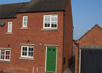 Thumbnail 2 bed end terrace house for sale in Forest School Street, Rolleston-On-Dove, Burton-On-Trent, Staffordshire