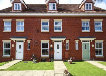 Thumbnail 3 bed town house for sale in Billsdale Court, Bridlington