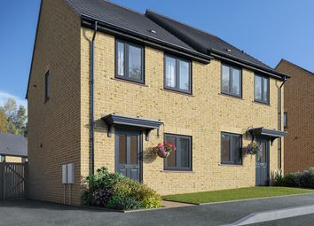 "Thumbnail 2 bed semi-detached house for sale in ""The Harcourt"" at Field Road, Ramsey, Huntingdon"