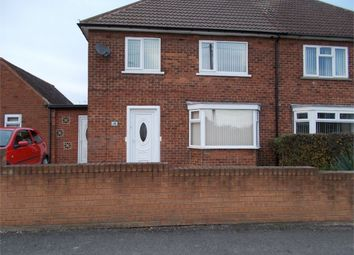 Thumbnail 3 bed semi-detached house for sale in Oxford Road, Carlton-In-Lindrick, Worksop, Nottinghamshire