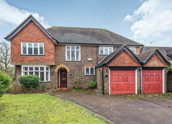 Thumbnail 4 bed detached house for sale in Leatherhead, Surrey