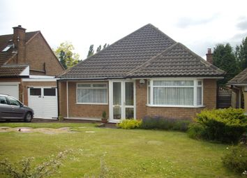 Thumbnail 3 bed detached bungalow to rent in Meadow Close, Streetly, Sutton Coldfield