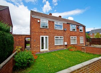 Thumbnail 2 bed semi-detached house for sale in David Terrace, Bowburn, Durham