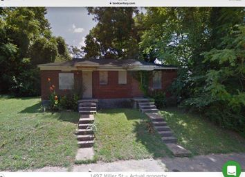Thumbnail 4 bed detached house for sale in 1498 Miller St, Memphis, Tn 38106, Usa