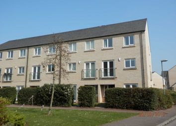 Thumbnail 4 bedroom town house to rent in Skipper Way, Little Paxton, St. Neots