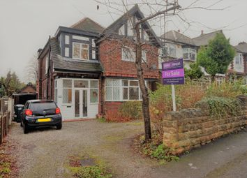Thumbnail 3 bed detached house for sale in Wensley Road, Woodthorpe Nottingham