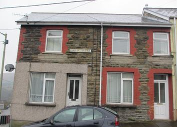 Thumbnail 2 bed flat to rent in Station Terrace, Bedlinog, Treharris