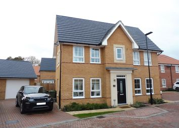 Thumbnail 3 bed detached house for sale in Bartlett Drive, Peterborough