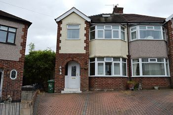 Thumbnail 3 bed semi-detached house to rent in Grange Drive, Heswall, Wirral
