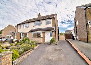 Thumbnail 3 bed semi-detached house for sale in Abbey Drive, Shepley, Huddersfield