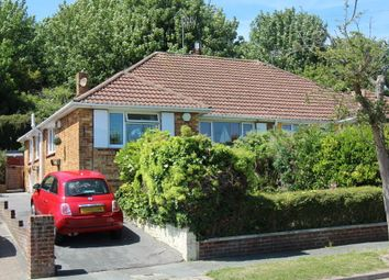 Thumbnail 4 bed bungalow for sale in Elvin Crescent, Rottingdean, Brighton