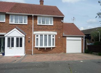 Thumbnail 3 bedroom end terrace house to rent in Dorking Road, Romford