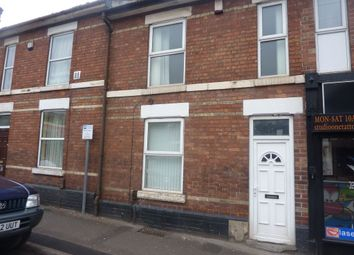 Thumbnail 4 bedroom terraced house to rent in Uttoxeter New Road, Derby